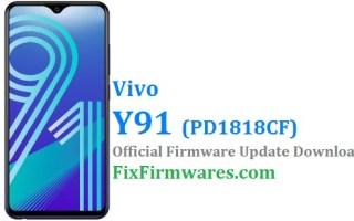 Vivo Y91, PD1818CF, Vivo Flash File,