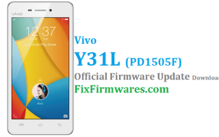 Vivo Y31L Firmware, PD1505F