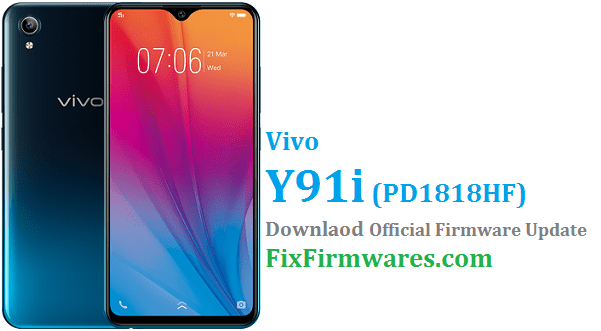 Vivo Y91i Firmware,PD1818HF,Vivo Global Firmware,, Vivo Y91i