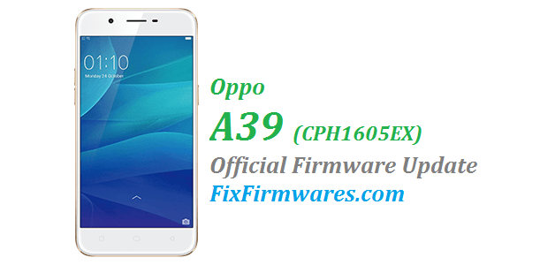Oppo A39, CPH1605EX,