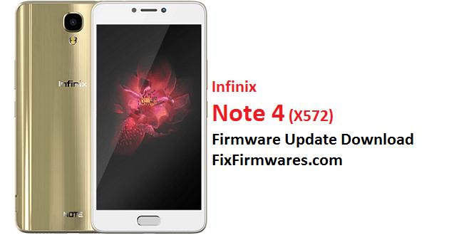 Infinix Note 4, X572