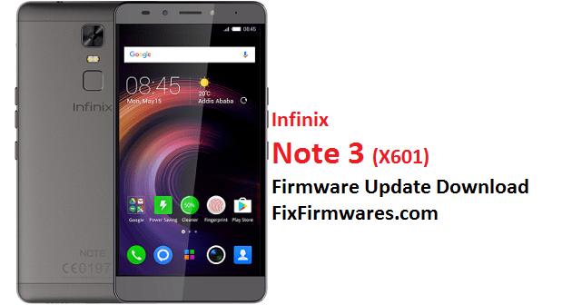 Infinix Note 3, X601