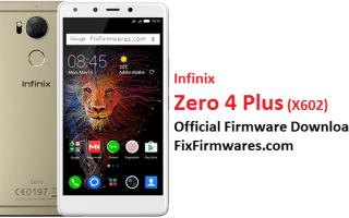 Infinix Zero 4 Plus, X602