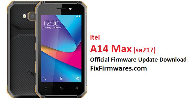 itel A14 Max, SA217