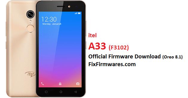 itel A33F, F3102