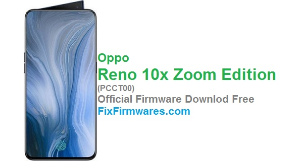 Oppo Reno 10x Zoom Edition, PCCT00