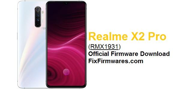 Realme X2 Pro, RMX1931