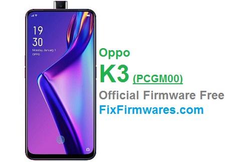 Oppo K3, PCGM00