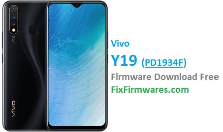 Vivo Y19, PD1934F