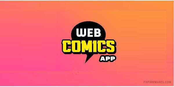 WebComics app