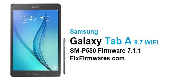 Samsung SM-P550 Firmware Download
