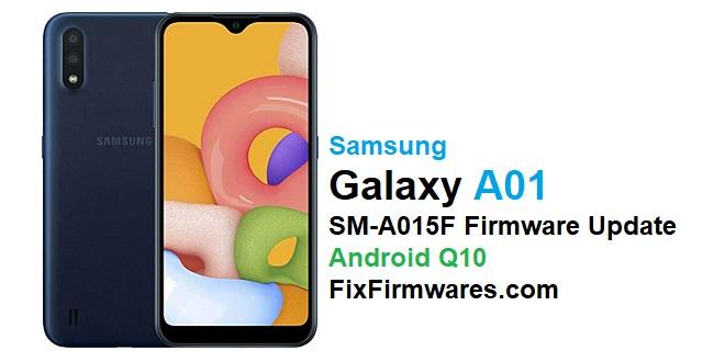 SM-A015F Firmware Update