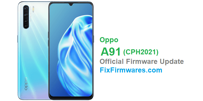 OPPO A91 Firmware Download - ColorOS