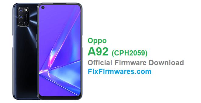 Oppo A92 (CPH2059)