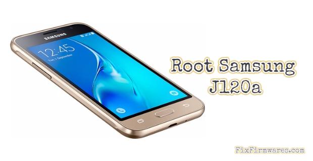 Root Samsung J120a