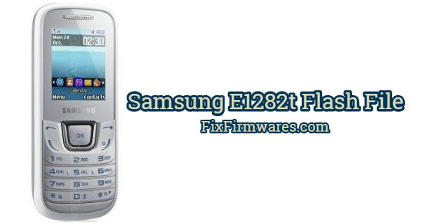 Samsung E1282t Flash File