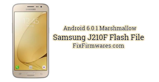 Samsung J210F Flash File