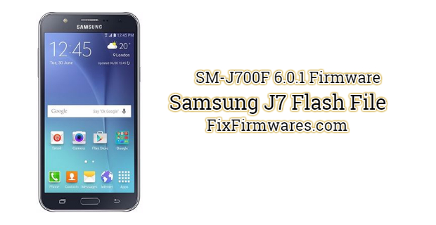 Samsung J7 Flash File
