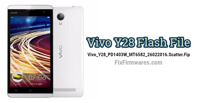 Vivo Y28 Flash File