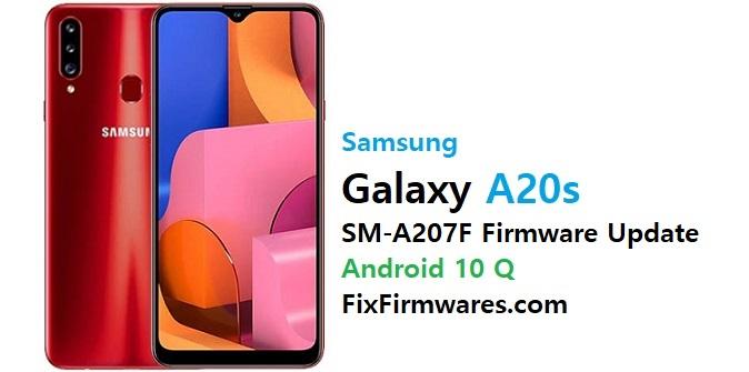 samsung sm-a207f firmware flash file