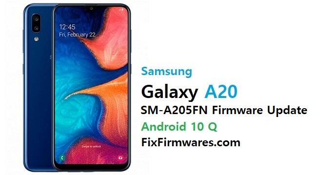 Samsung SM-A205FN Firmware File (Flash File)