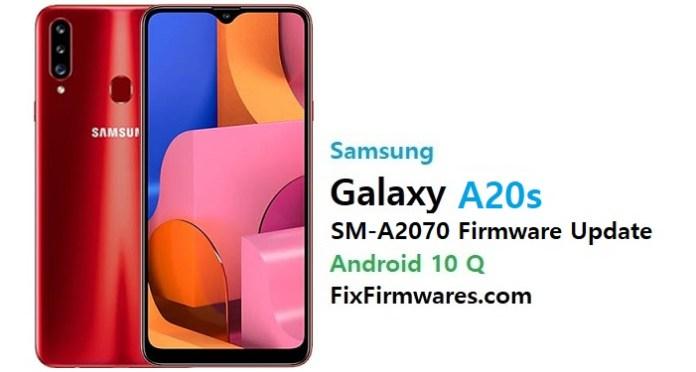 Samsung SM-A2070 Firmware File (Flash File)
