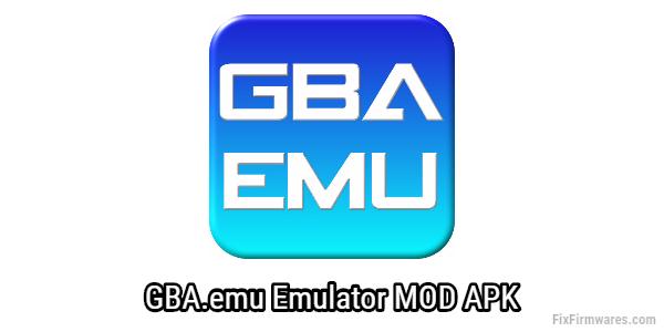 GBA emu MOD APK