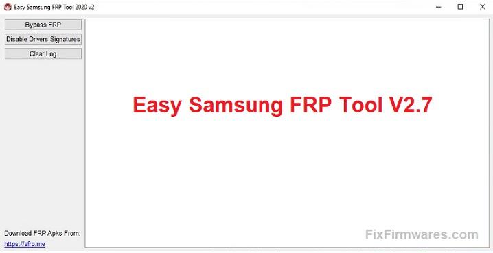 Easy Samsung FRP Tool V2.7