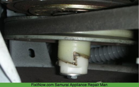 Amana Washer Makes Loud Ratcheting Noise During Spin But