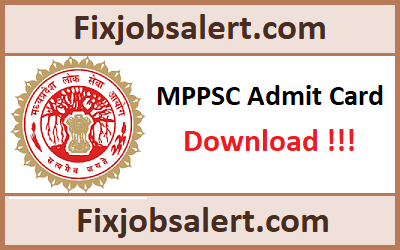 MPPSC Medical Officer Admit Card 2019 @ mppsc.nic.in MP MO Exam Date, Hall Ticket