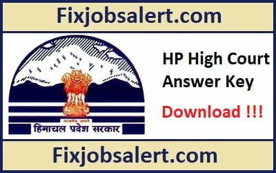 HP High Court Clerk Answer Key 14th April 2019 Question Paper Solution, Cut Off