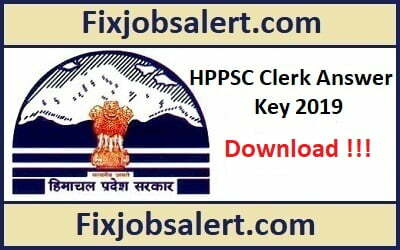 HPPSC Clerk Grade 3 Answer Key 2019 28th April HP Post Post Code 709 Paper Solution, Cut Off