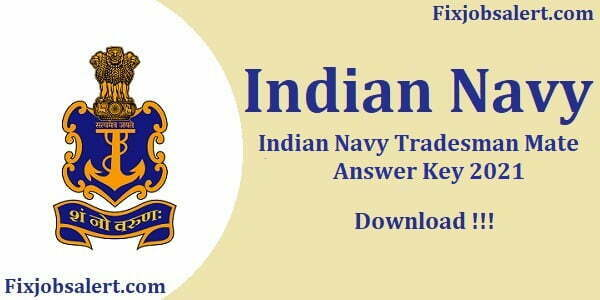 Indian Navy Tradesman Mate Answer Key 2021 27th July Paper Solution