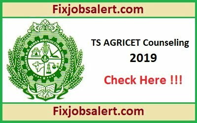 TS AGRICET Counseling 2019 @ anugrau.ac.in TS Agricultural Seat Allotment Result
