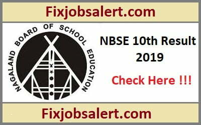 Declare Nagaland HSLC Result 2019 @ nbsenagaland.com NBSE Board 10th Results Name Wise