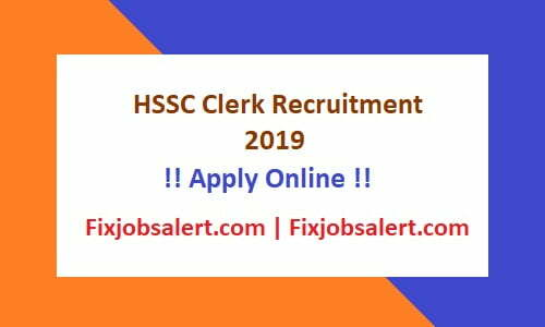 HSSC Clerk Recruitment 2019 Apply for 4858 Clerk Group C Vacancy @ hssc.gov.in