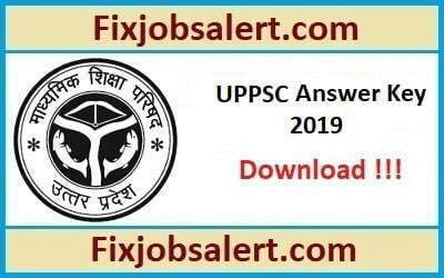 UPPSC APO Answer Key 2019 9th June Prelims Paper Solution, Cut Off Marks @ uppsc.up.nic.in