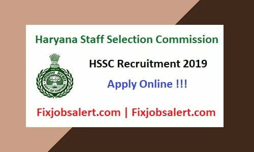 HSSC Assistant Lineman Recruitment 2019 Apply for 2978 LDC, UDC, ALM & Other Vacancy