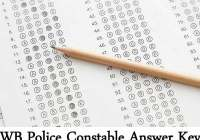 WB Police Constable Answer Key 2019 4th August Paper Solution, Cut Off Mark