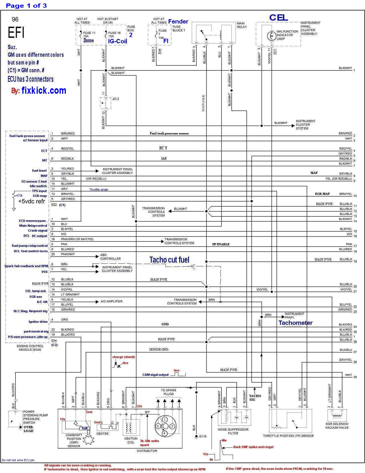 hight resolution of 3 page with annotations the dlc cab wires up like this the ecu conn look like this 96 only