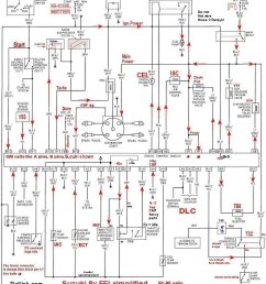 what you need to make engine run the basic schematics page92 95 u2032 8v tbi ecu simplified schematic [ 1152 x 1295 Pixel ]