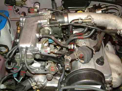 small resolution of c the fuel pressure regulator on