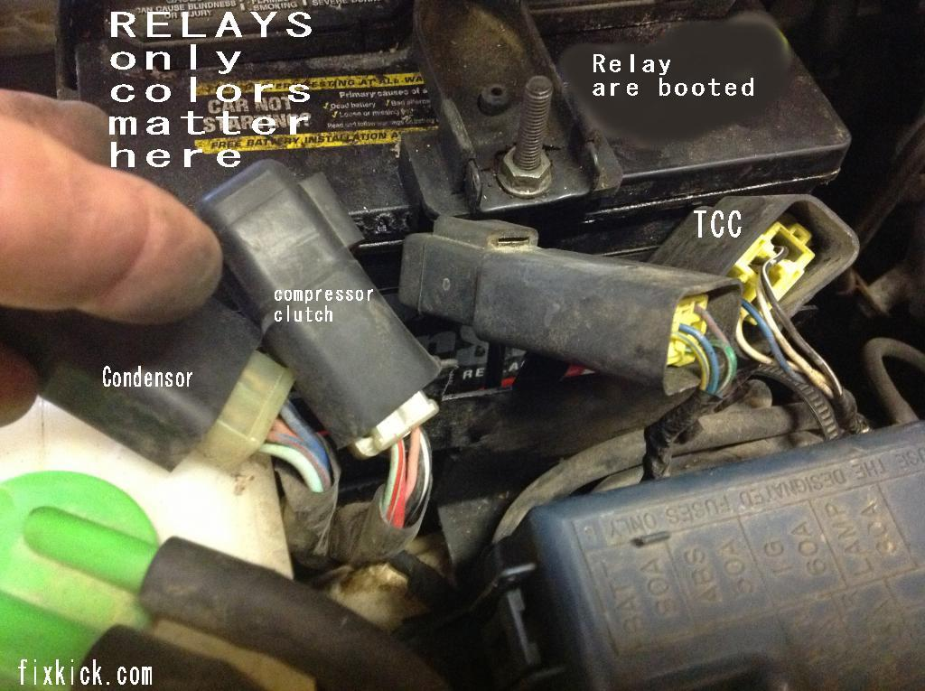 1996 Jeep Grand Cherokee Fuse Box Where Are All Relays On This Car Sidekick Tracker