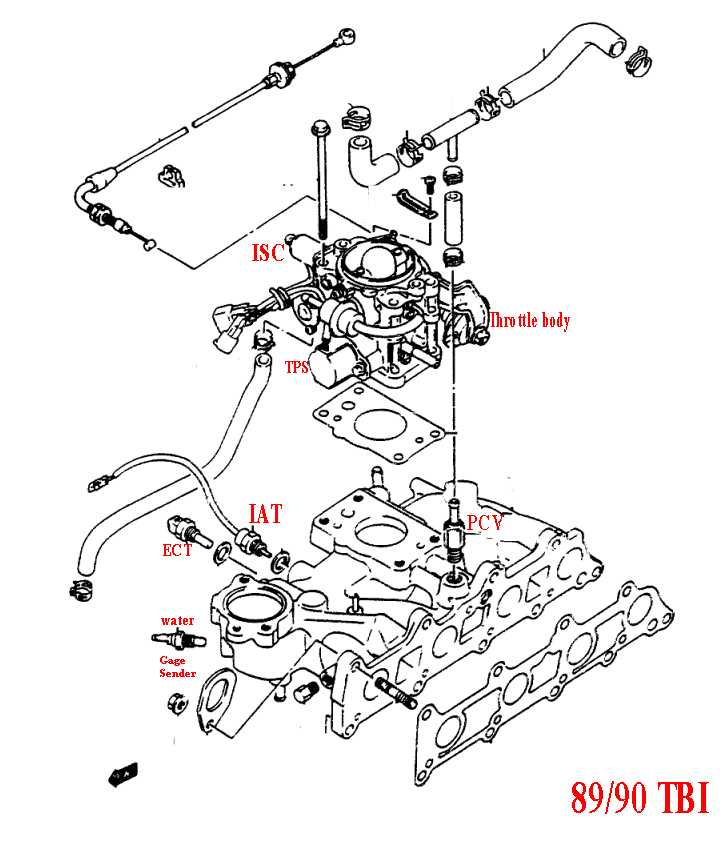 Geo Tracker Vacuum Diagram, Geo, Free Engine Image For
