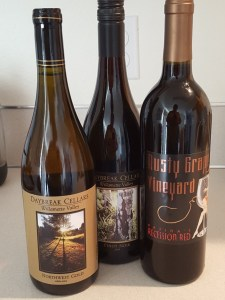 three wines