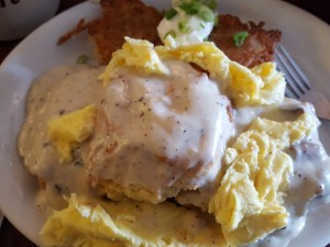 tin shed biscuits and gravy
