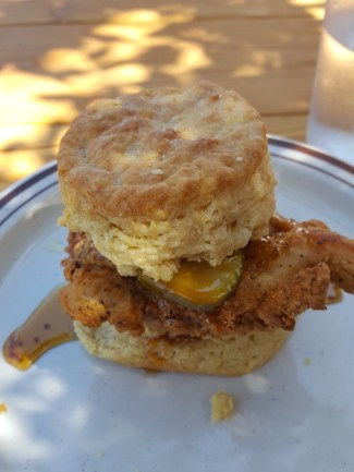 chicken and biscuit