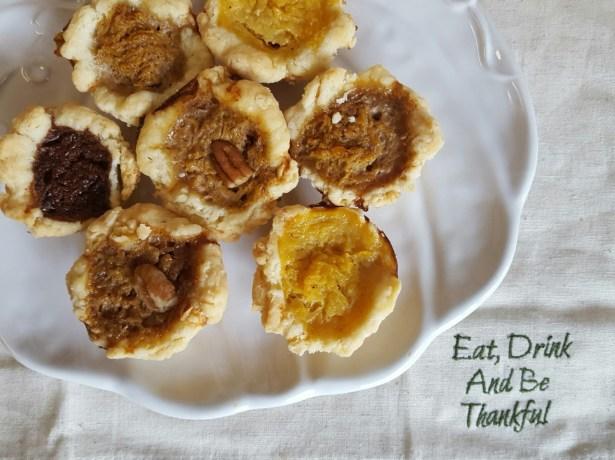 Mini Pumpkin Pies Four Ways