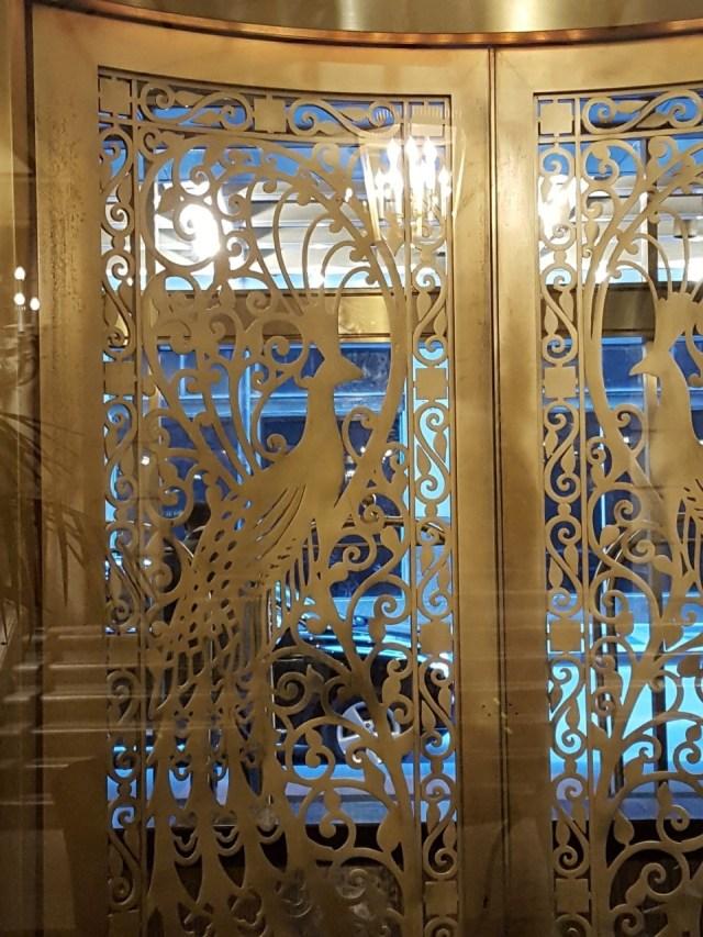 peacock-door