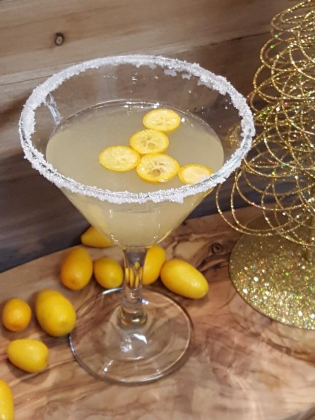 Kumquat Meyer Lemon Martini